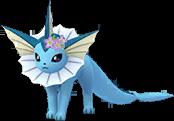 Aquali couronne de fleurs
