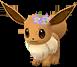 Évoli couronne de fleurs