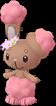 Laporeille couronne de fleurs chromatique