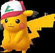 Pikachu Casquette Ash Chromatique