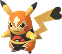 Pikachu catcheur