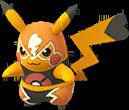 Pikachu catcheur chromatique