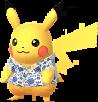 Pikachu chemise Kariyushi d'Okinawa