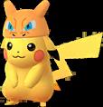 Pikachu Dracaufeu