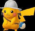 Pikachu explorateur chromatique