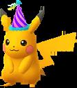 Pikachu festif Chromatique