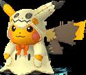 Pikachu Halloween chromatique