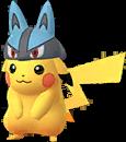 Pikachu Lucario