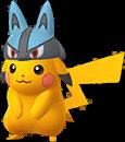 Pikachu Lucario chromatique