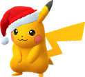 Pikachu Noël 2017 Chromatique
