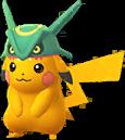 Pikachu Rayquaza chromatique