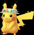 Pikachu visière fleurie