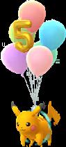 Pikachu Volant 5 ans chromatique