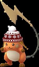 Raichu bonnet de ski Chromatique