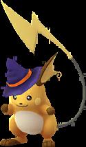 Raichu Halloween 2017