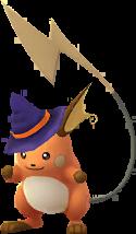 Raichu Halloween 2017 Chromatique
