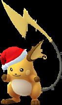 Raichu Noël 2017