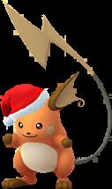 Raichu Noël 2017 Chromatique