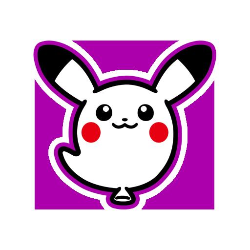 Sticker Pikachu Fantôme