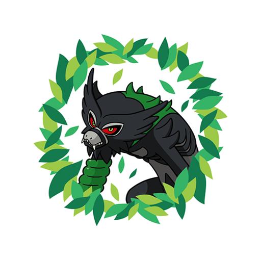 Sticker Zarude