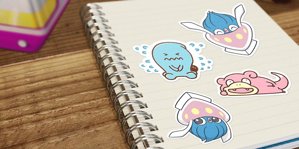 Nouveaux stickers Fantasmagorie Psy Pokémon GO